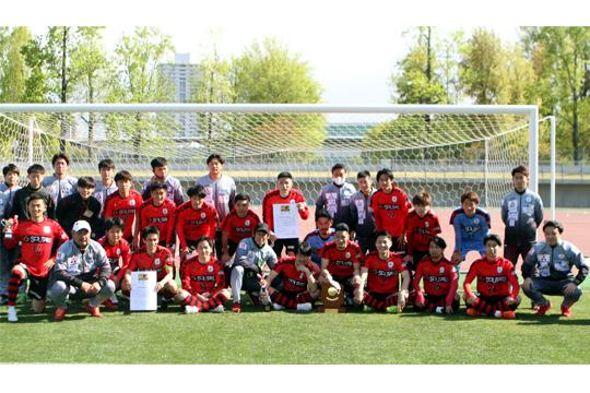 三菱水島FC(2年連続14回目)