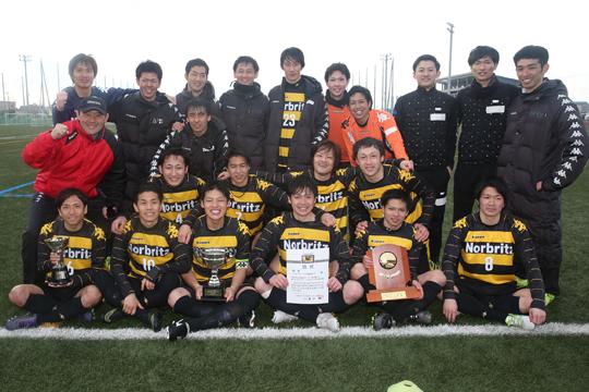 ノルブリッツ北海道FC(3年ぶり6回目)