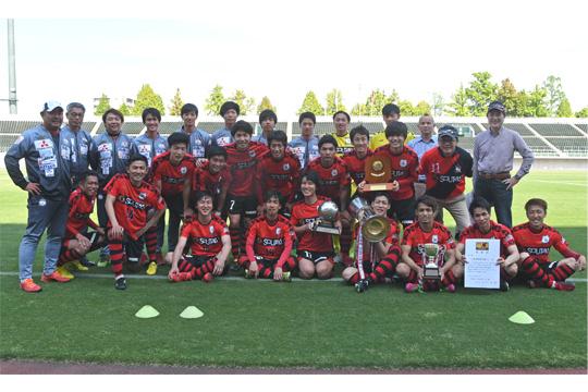 三菱水島FC(2年連続12回目)