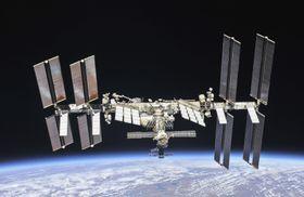 国際宇宙ステーション(NASA提供)