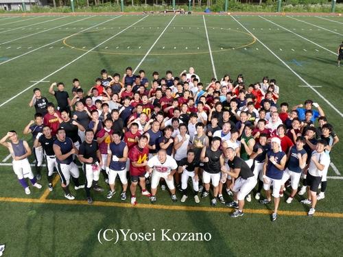 桜美林大では、高校生を招いた合同練習を定期的に行っている=撮影:Yosei Kozano