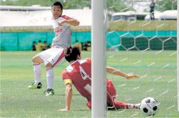 東北高校サッカー、8強決まる
