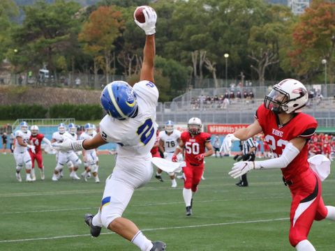 決勝は関学大と立命大の対戦 関西学生リーグ1部トーナメント