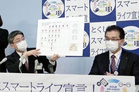 コロナ感染4人のうち2人は病院関連クラスター 他2人は徳島市の夫妻【12日詳細】