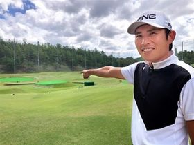 青木コーチが渋野選手を指導している兵庫県小野市の樫山ゴルフランド。10ヤード刻みのアプローチを徹底して練習しているという