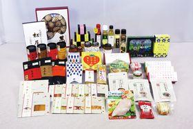 新たに長崎四季畑に認証された53商品(県農産加工流通課提供)