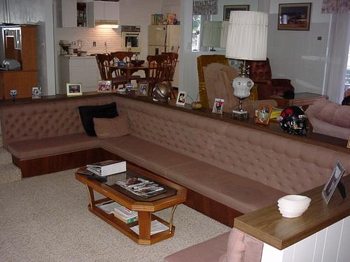 ベティさんがキャプテン「メジャー」らとルームシェアしていた家=2000年