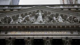 ニューヨーク証券取引所=2019年5月(ロイター=共同)