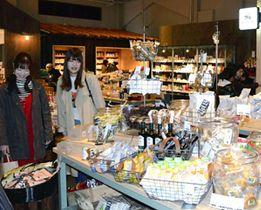 商業施設ブリトマートに新規出店した「アメカゼ」