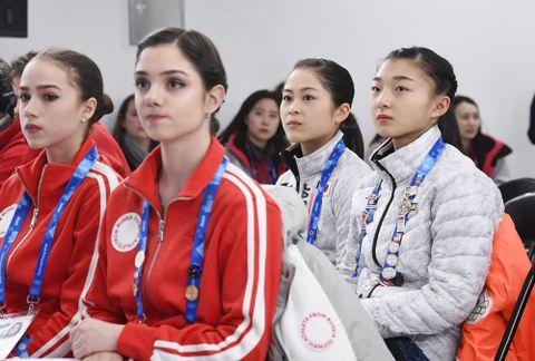 女子フィギュア金メダル最有力にドーピング検査、公式練習中止