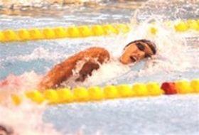 水泳 静岡新人大会 上山(飛龍)200自由形を制し2冠