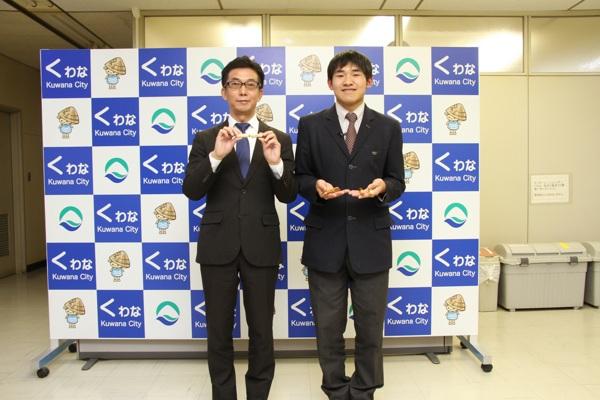 桑名工業高 服部さん、高校生社長に ボールペン制作販売会社を企業 三重