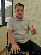 群馬県サッカーについて語る田嶋会長