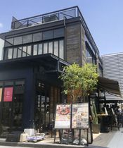 東京・原宿に3日間限定で開店したフェイスブックカフェ=17日午後