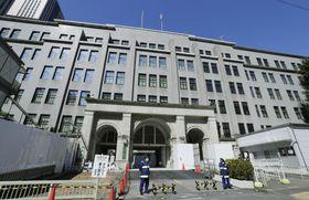 東京・霞が関の財務省