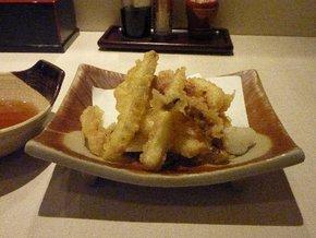 「海の幸 味どころ 軍ちゃん」高田店で食べた一夜干スルメ天ぷら