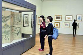シャガール+石元泰博 高知県立美術館で2大至宝一堂