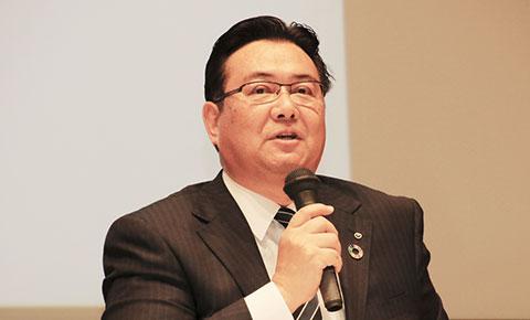 経団連農業活性化委員会企画部会長・井伊基之氏(NTT副社長)