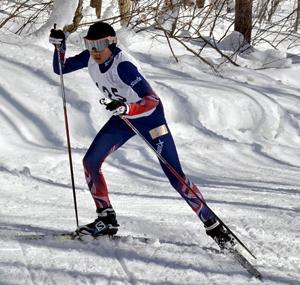 横沢が雪辱の初V 福島県中体スキー・距離女子フリー