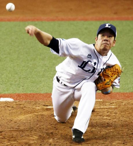 西武・多和田、粘って4連勝 6回3失点、貯金10に貢献