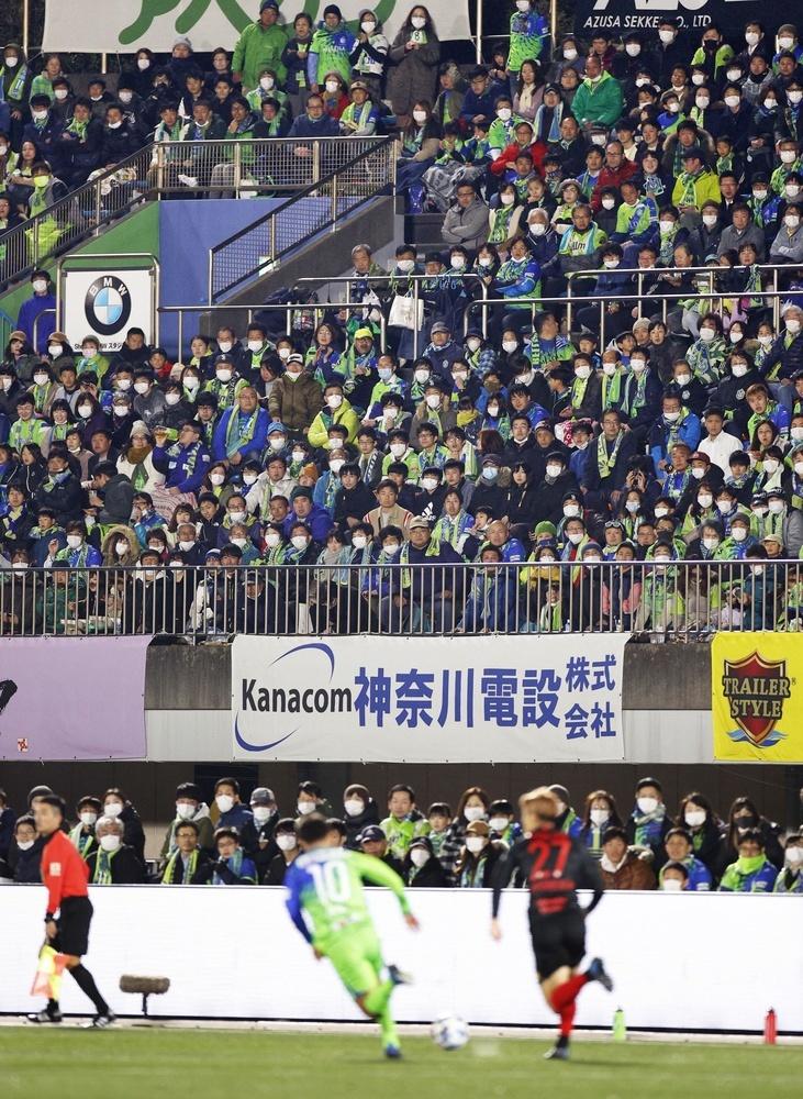 2月21日に行われた今季J1開幕戦の湘南―浦和=神奈川県平塚市