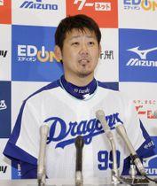 中日の松坂大輔投手=6月24日、ナゴヤドーム