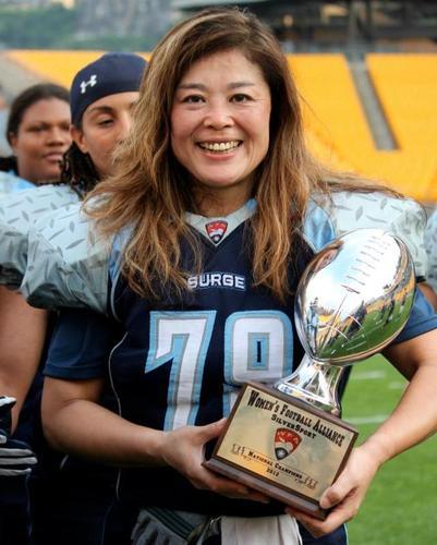 2012シーズン、サンディエゴ・サージで悲願のリーグ優勝を果たした鈴木さん