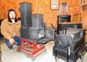 屋内用ロケットストーブ製作 篠山の北山鉄工所