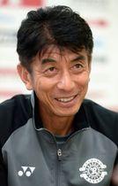 ラグビー日本代表にエールを送るJ2柏の井原ヘッドコーチ
