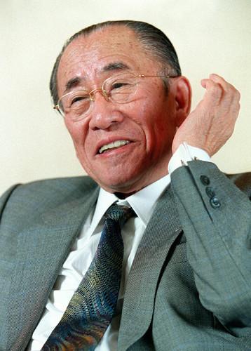 元アサヒビール社長の樋口広太郎さん