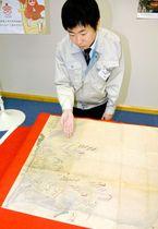 村上海賊も加わった毛利氏の水軍などを描いた市村上水軍博物館新収蔵の絵図