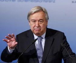 国連のグテレス事務総長(ロイター=共同)