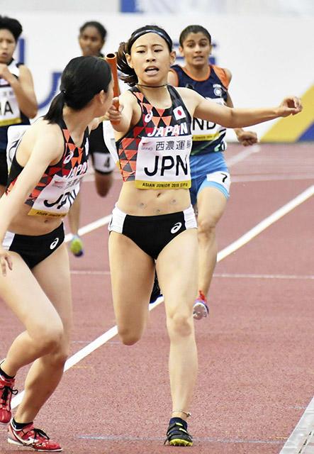 陸上 アジアジュニア選手権 吉田佳純が2種目制覇
