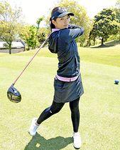 いわきを拠点にプロゴルファー目指す大田さん