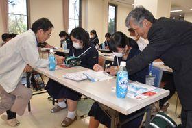 都城市五十市地区で始まった学習支援事業
