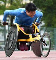 東京パラリンピックの代表に内定した佐藤友祈