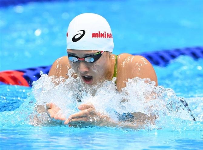 水泳 日本選手権 女子200平 鈴木 全力出し切り7位 3大会連続ならず