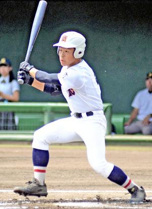 福島商、湯本に6-2競り勝つ 先制打・武藤『最高の誕生日』