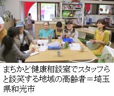 広がる栄養ケア拠点地域で支える高齢者の食気軽に相談、活用を
