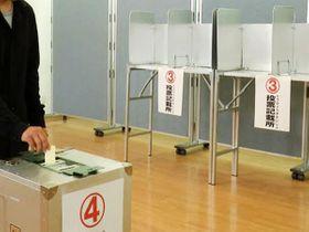 期日前投票、県が中間発表