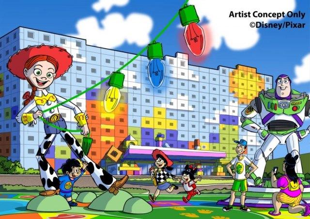 国内で5番目のディズニーホテルの名称が『東京ディズニーリゾート・トイ・ストーリーホテル』に決定 (C)Disney/Pixar
