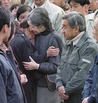 阪神大震災の被災者を励ます
