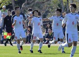 サッカー 高知大会 西が初の決勝進出