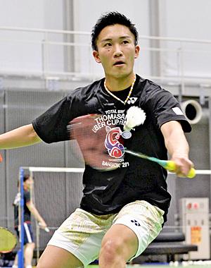 桃田賢斗攻める「負けたくない」 過去の自分...超えて東京五輪