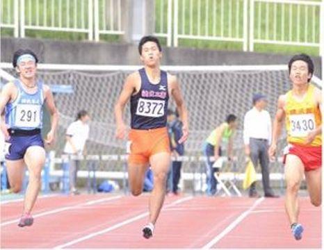 三浦励央奈、初の頂点男子200 陸上・神奈川県新人大会