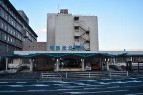 【尾鷲総合病院=尾鷲市上野町で】