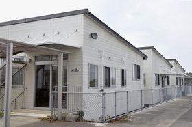 入居者6人が相次いで死亡していたことが分かった住宅型有料老人ホーム「風の舞」=21日午後、鹿児島県鹿屋市