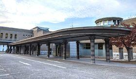 広島市東区の市営火葬場「永安館」。市営火葬場は計5施設ある