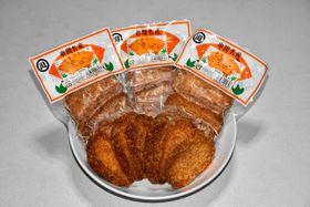 ぷりぷりしたすり身の食感とタマネギの甘さが絶妙な「お魚コロッケ」