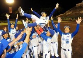 女子野球、兵庫ディオーネ連覇 一度も首位譲らず